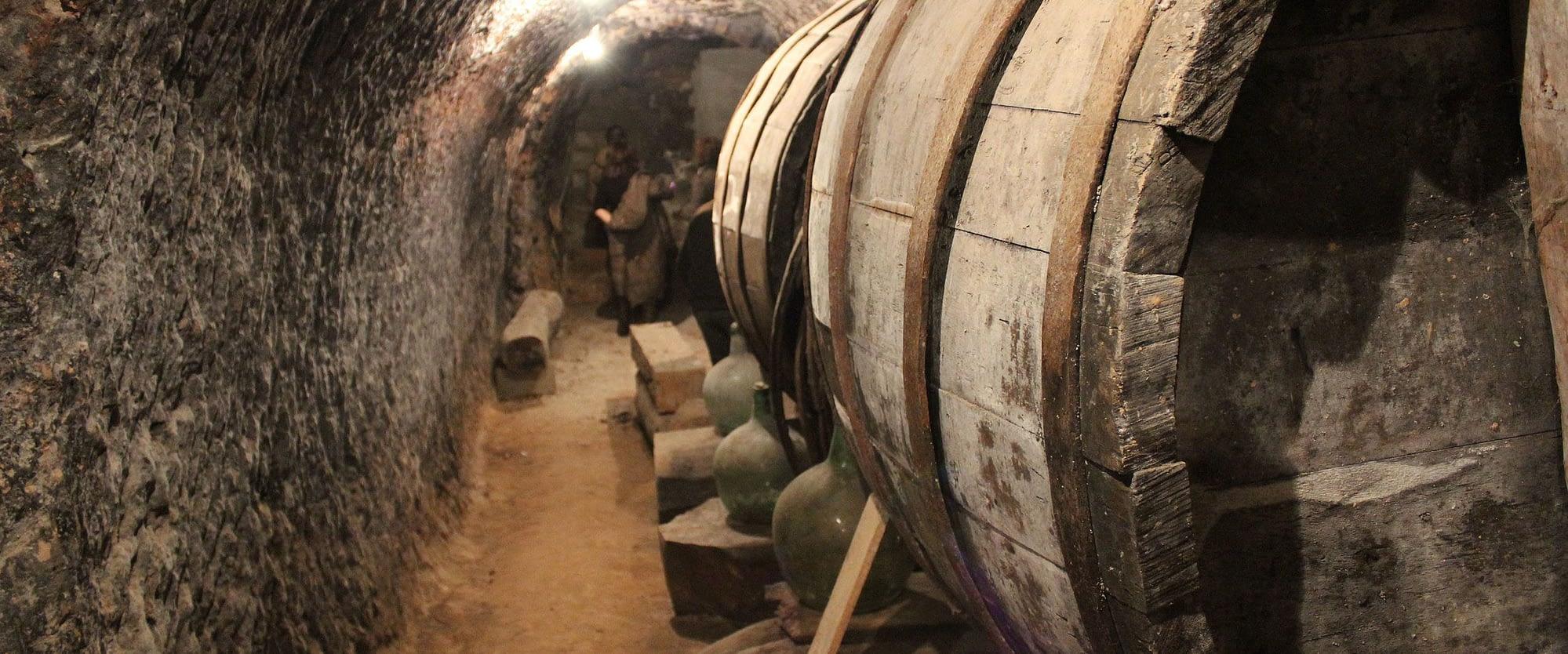 Foto bodega subterranea